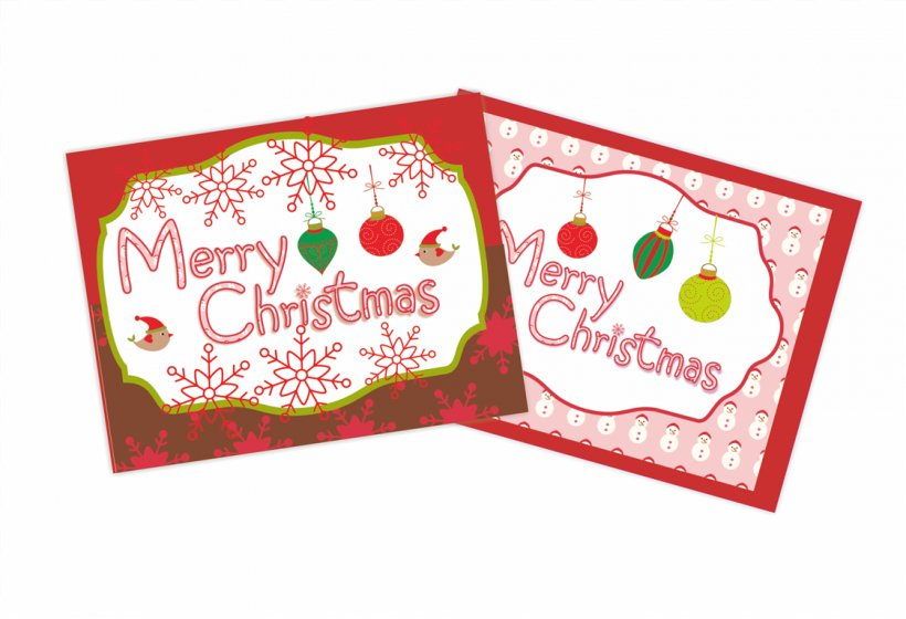 Santa Claus Christmas Card Greeting & Note Cards Clip Art.