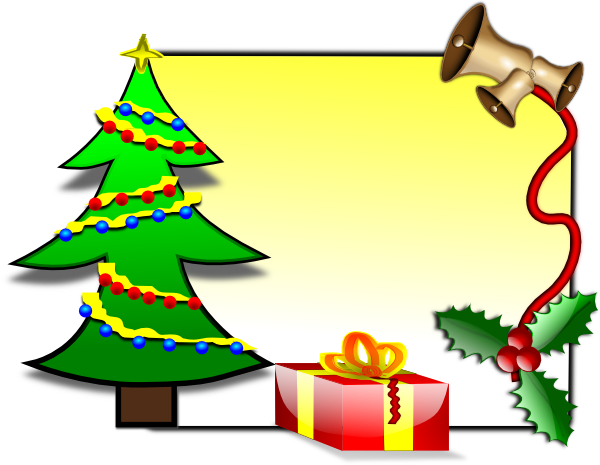Christmas Card Template Clip Art at Clker.com.