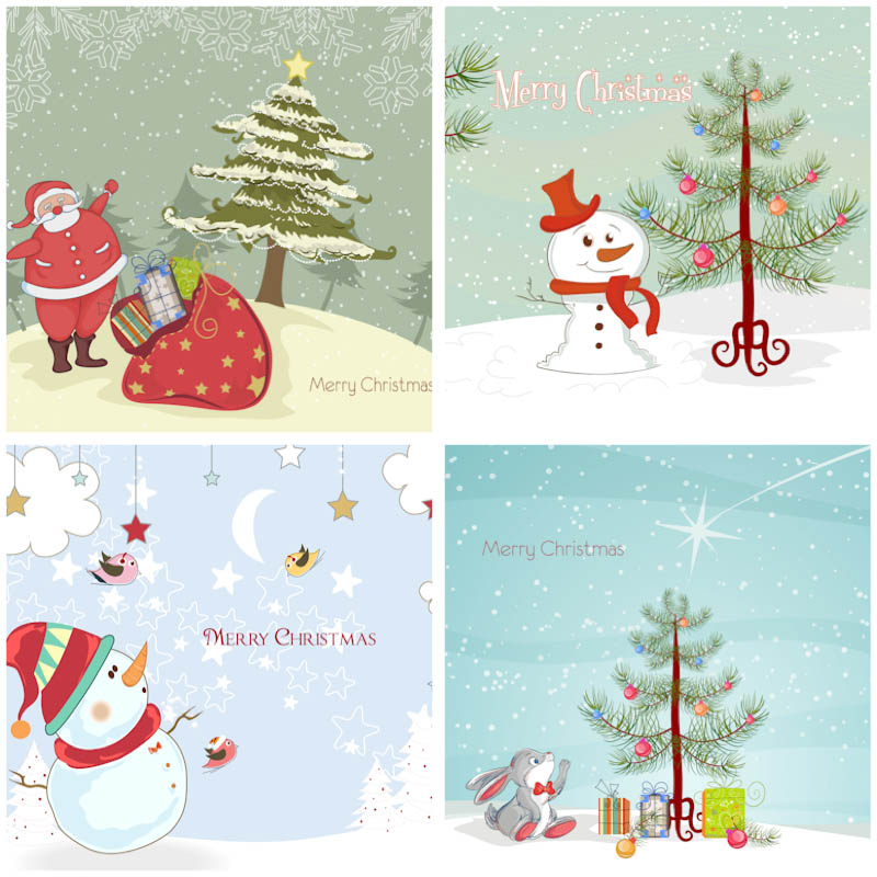 download christmas cards templates