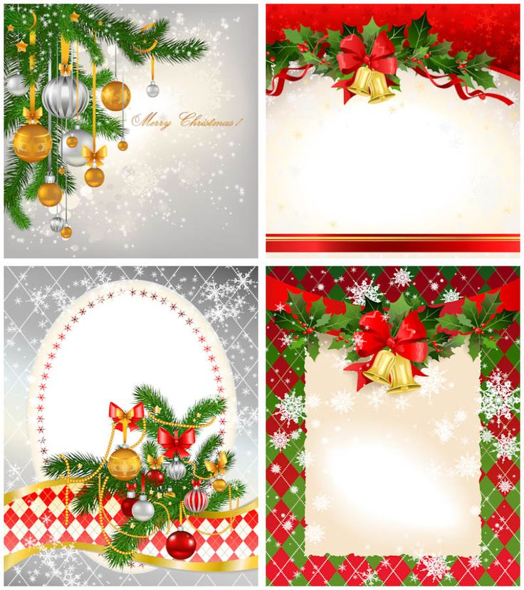 christmas card clipart templates - Clipground