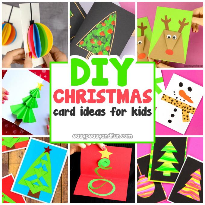 DIY Homemade Christmas Card Ideas.
