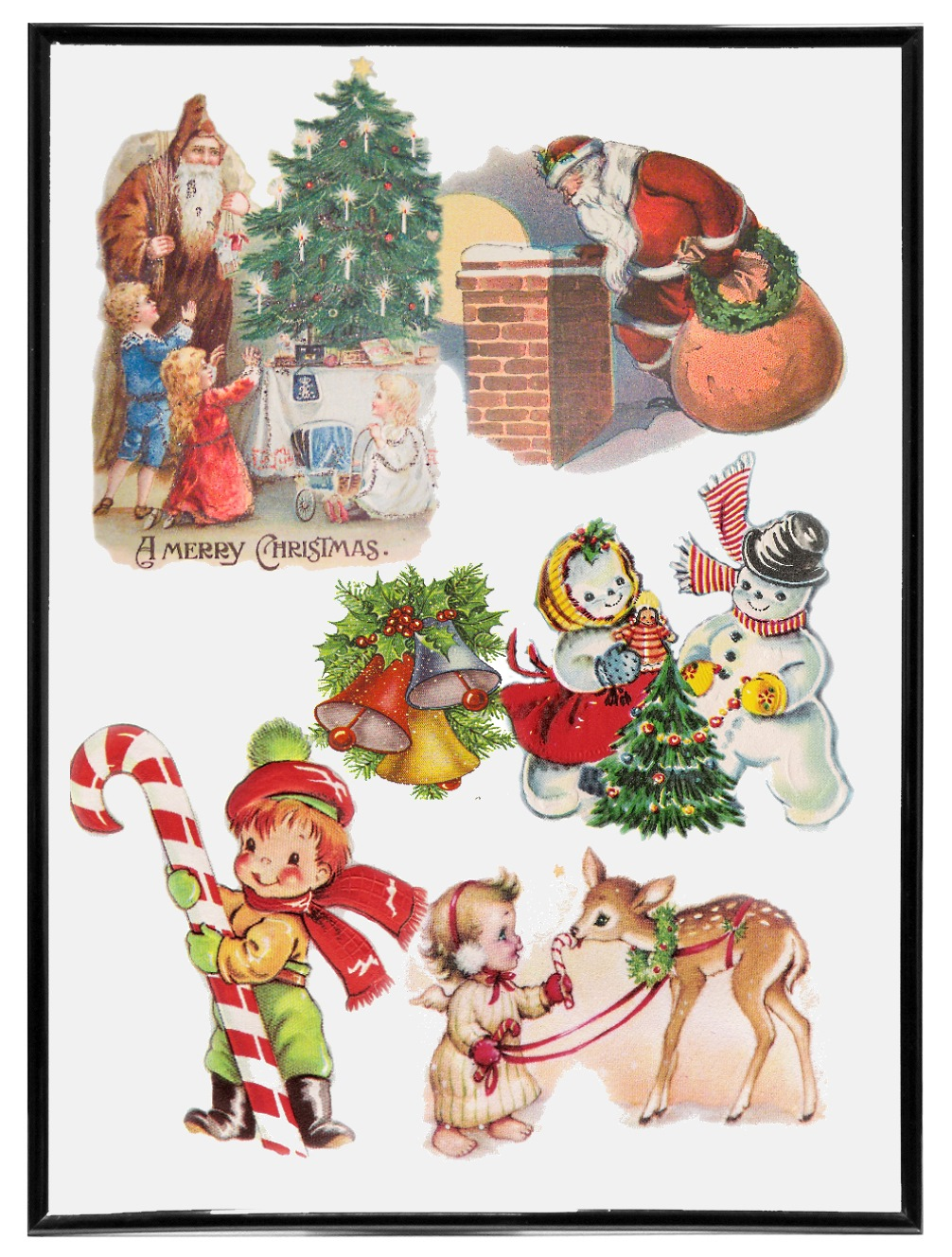 Vintage Christmas Cards Collection Vol.3.