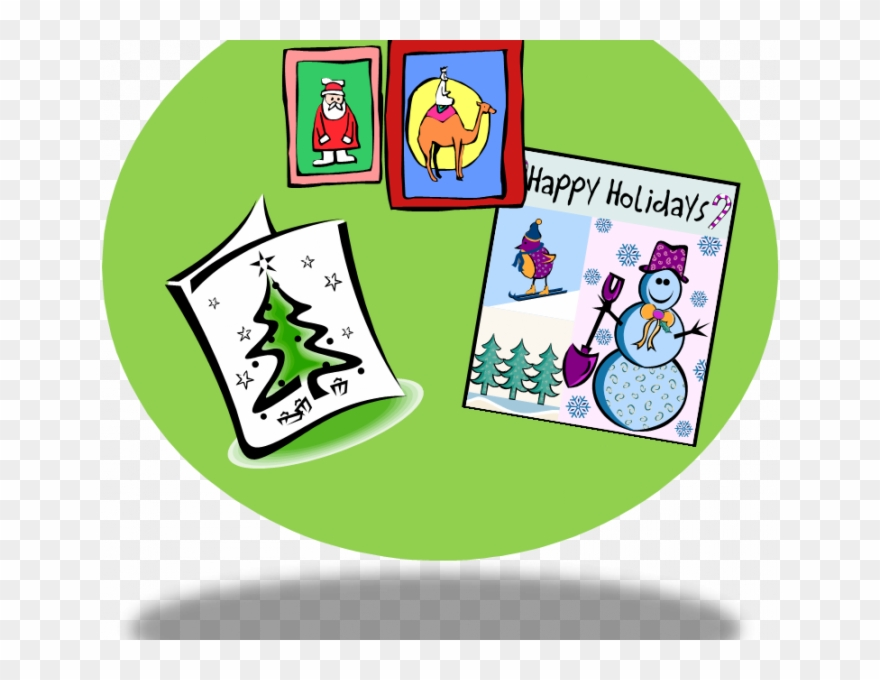Cards Clipart Christmas.