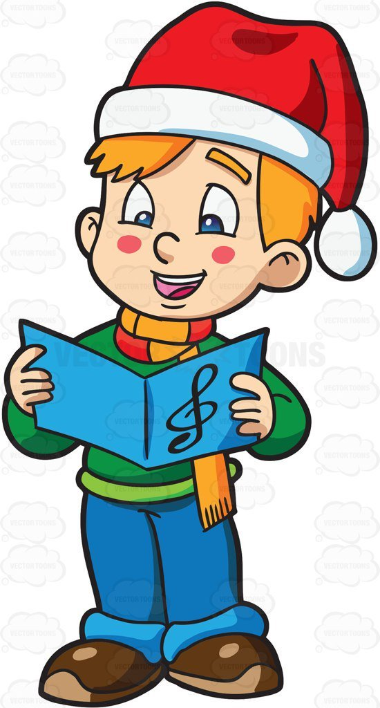 Christmas carol clipart 5 » Clipart Portal.