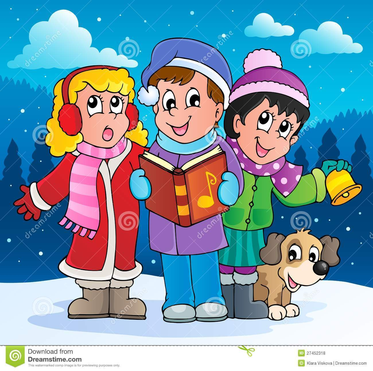 Christmas carol singers clipart free 5 » Clipart Portal.