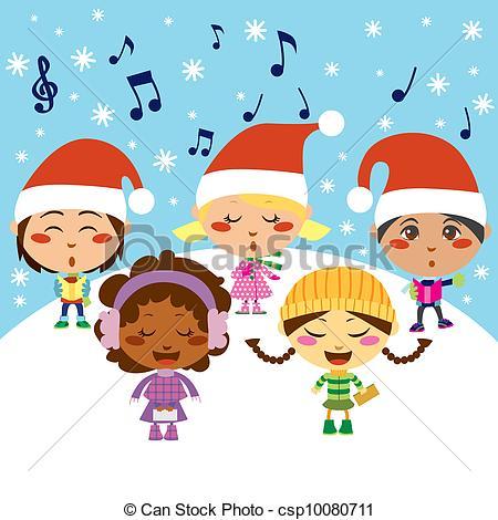 Christmas Carol Children.