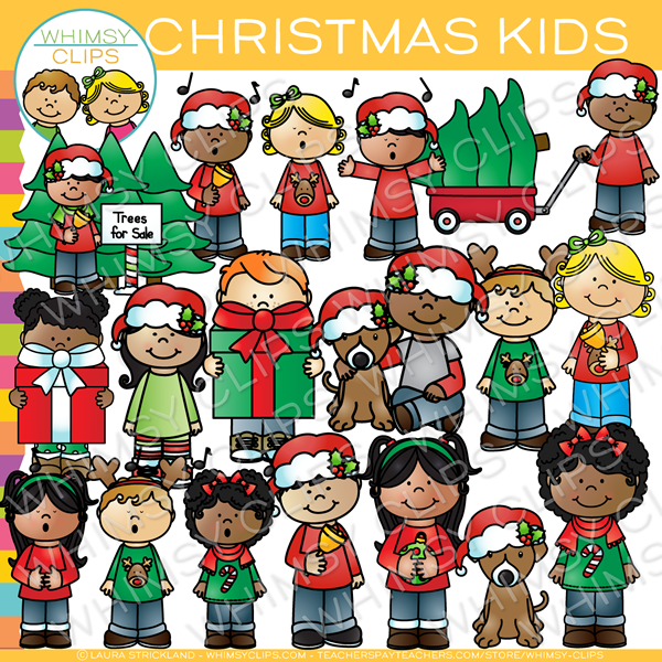 Christmas carolers clip art , Images & Illustrations.