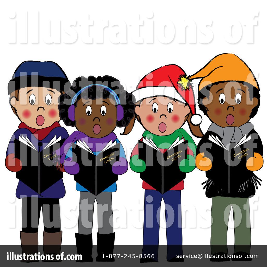 Christmas Caroling Clipart #83331.