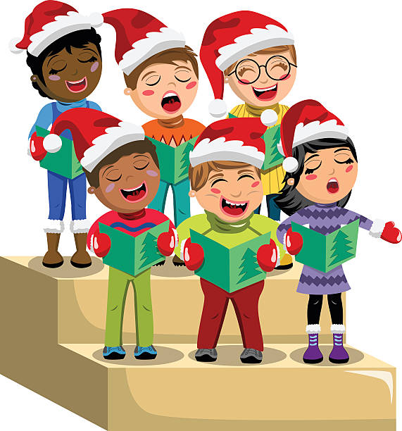Christmas carols clipart 5 » Clipart Station.