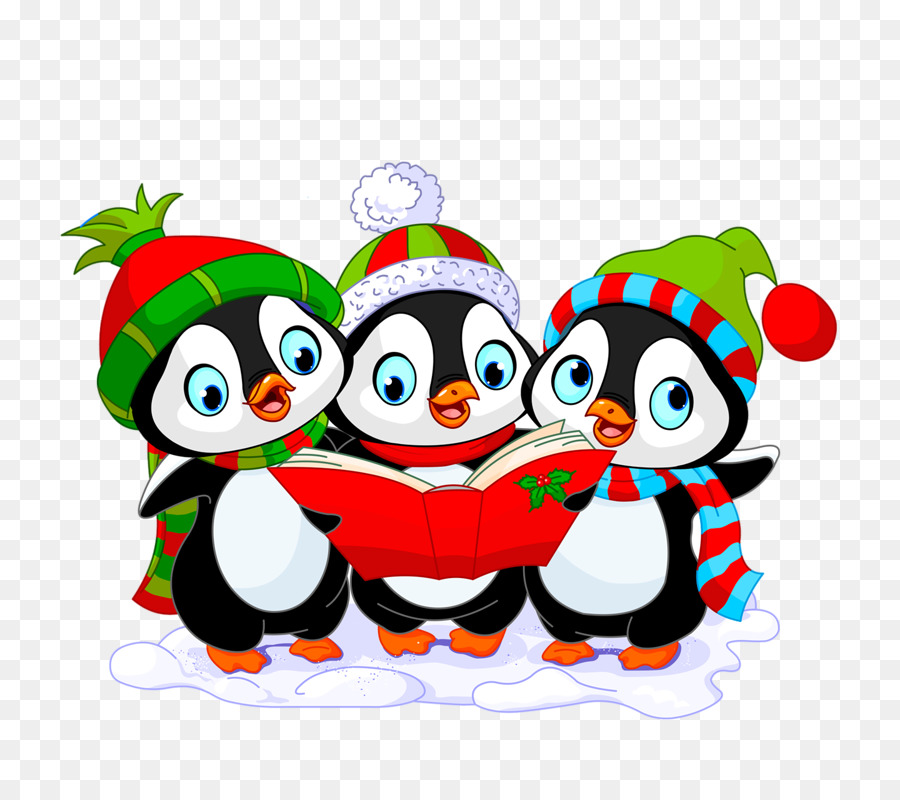 Christmas Penguin png download.