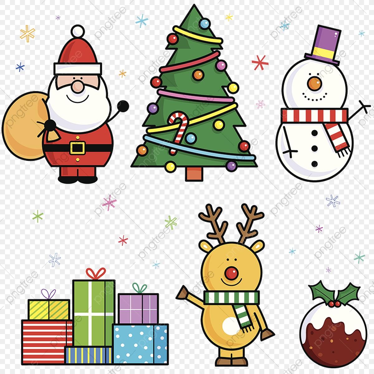 Christmas Cartoon Patterns, Cartoon, Clipart, Christmas PNG.