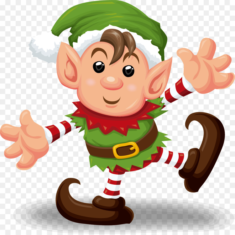 Christmas Elf Clipart png download.