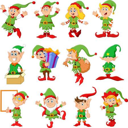 13,764 Christmas Elf Cliparts, Stock Vector And Royalty Free.