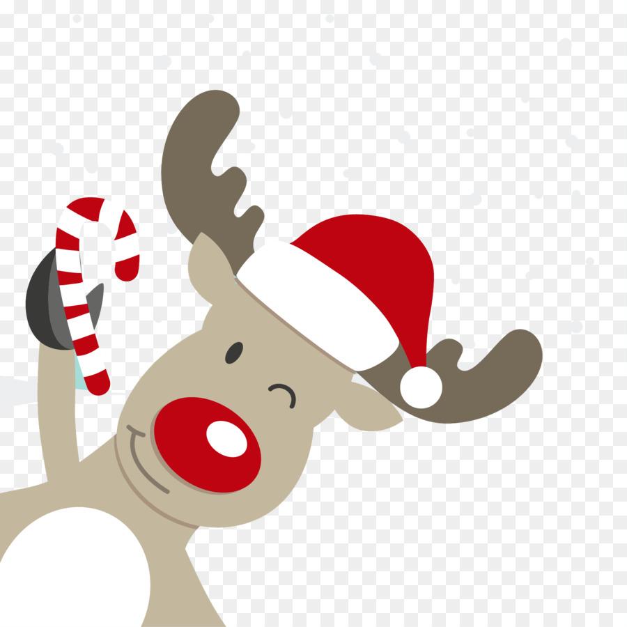 Rudolph Reindeer Santa #257311.
