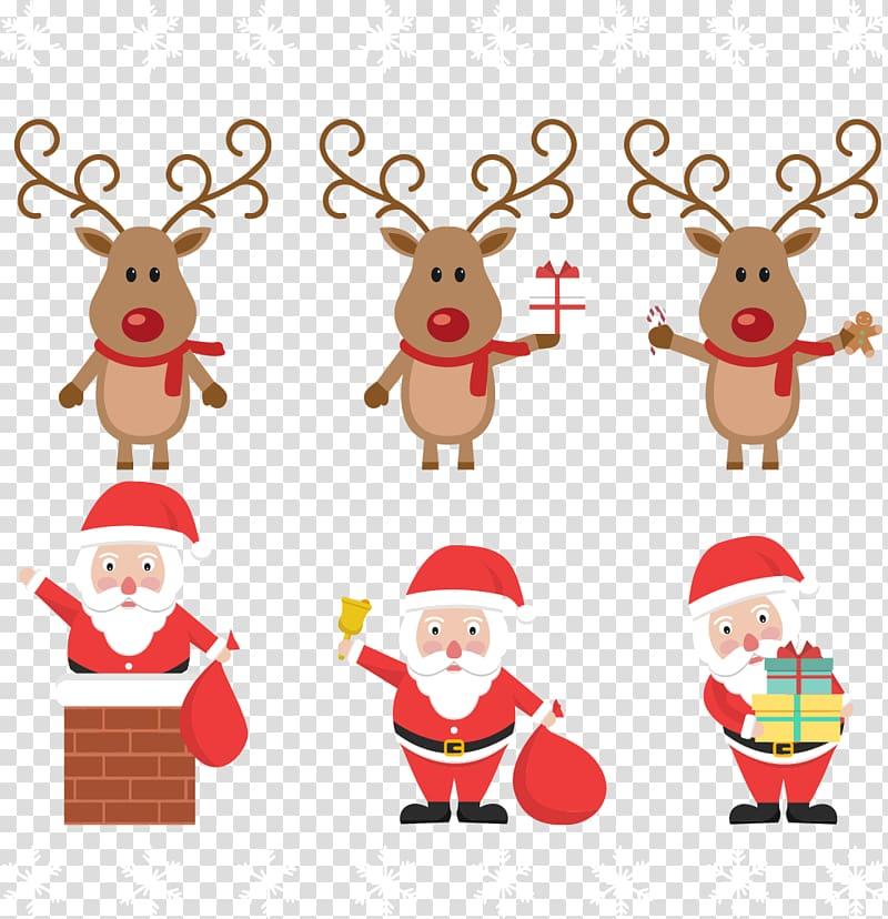 Rudolph Santa Clauss reindeer Santa Clauss reindeer Christmas.