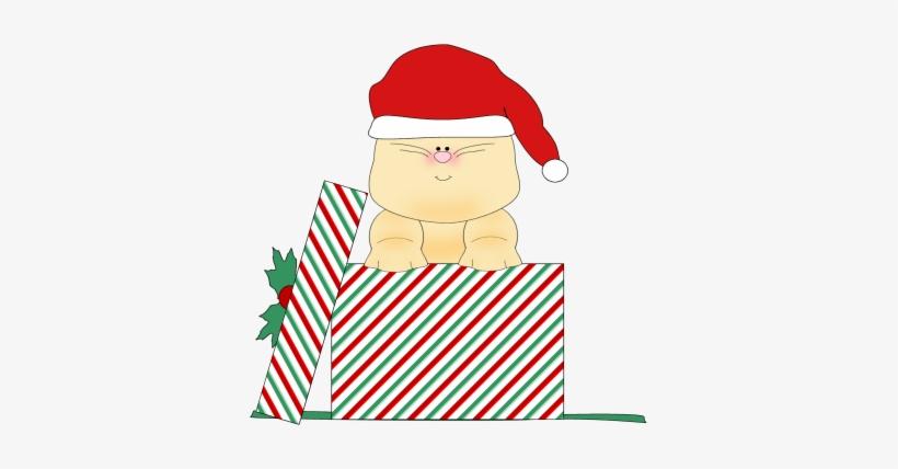 Clipart Christmas Cat Clipart.