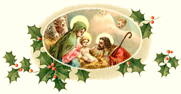 Free Catholic Christmas Clip Art.