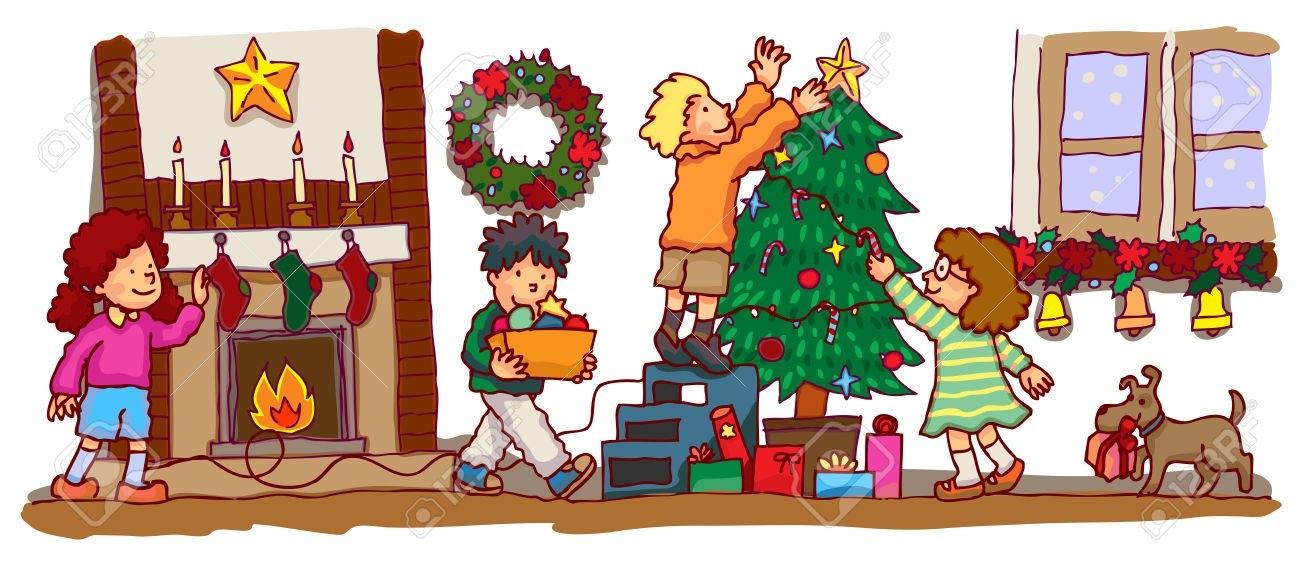 Christmas Celebration Clipart Images.