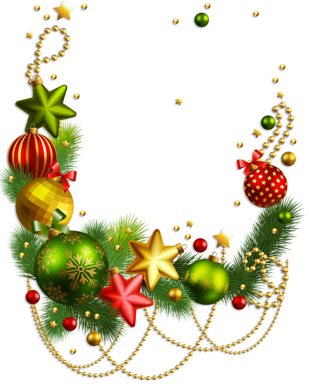 Centerpieces for christmas clipart.