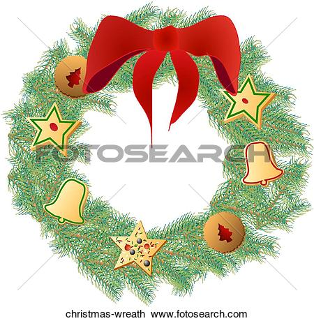 Clipart of Christmas Centerpiece christmas.