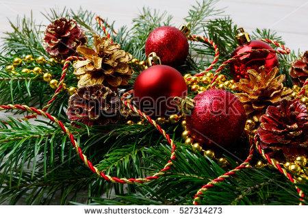 Christmas Centerpiece Stock Photos, Royalty.
