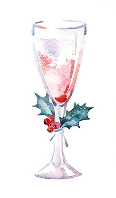 Champagne clipart christmas, Champagne christmas Transparent.