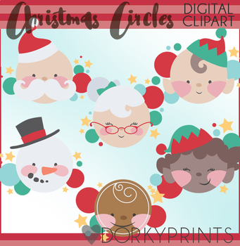 Christmas Characters Clipart.