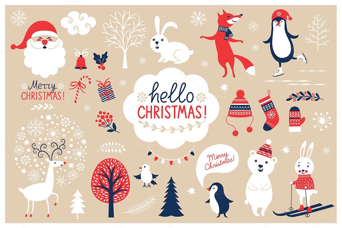 Christmas Characters Set #99915.