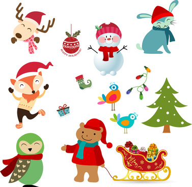 Christmas characters free vector download (11,980 Free vector) for.