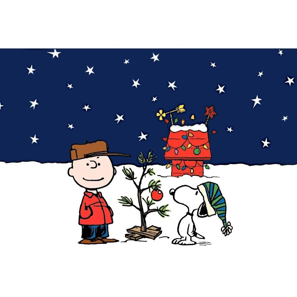 christmas charlie brown clipart #8