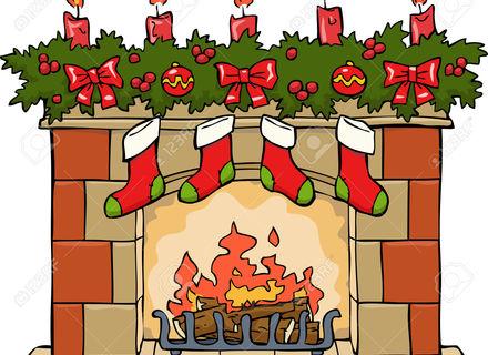 16 Fireplace Clip Art, Christmas Fireplace Clipart Tumundografico 2.