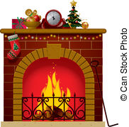 Christmas fireplace Clipart Vector and Illustration. 3,435 Christmas.