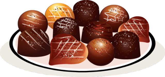 Christmas Chocolate Clipart.