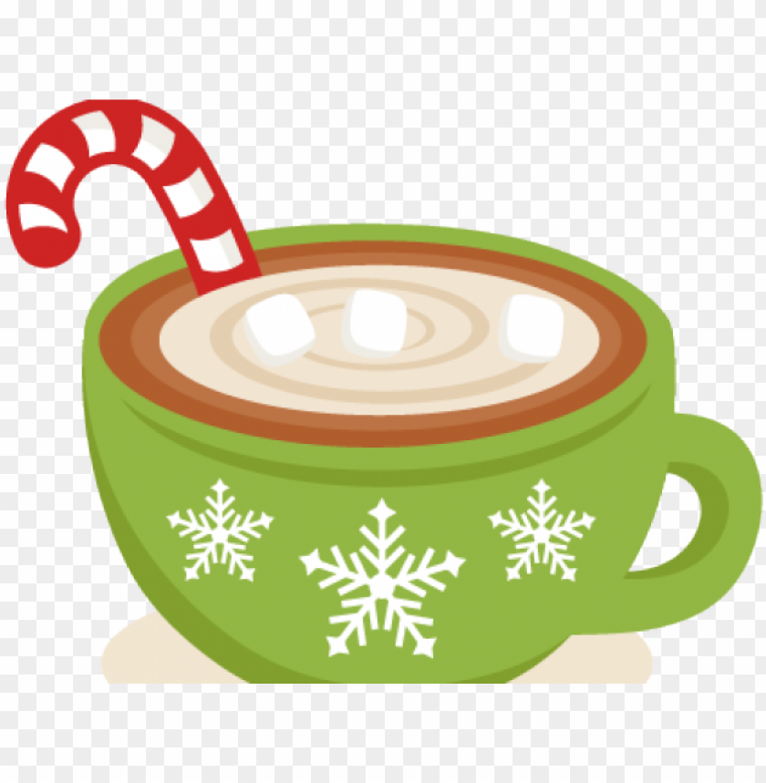 christmas hot chocolate clipart PNG image with transparent.
