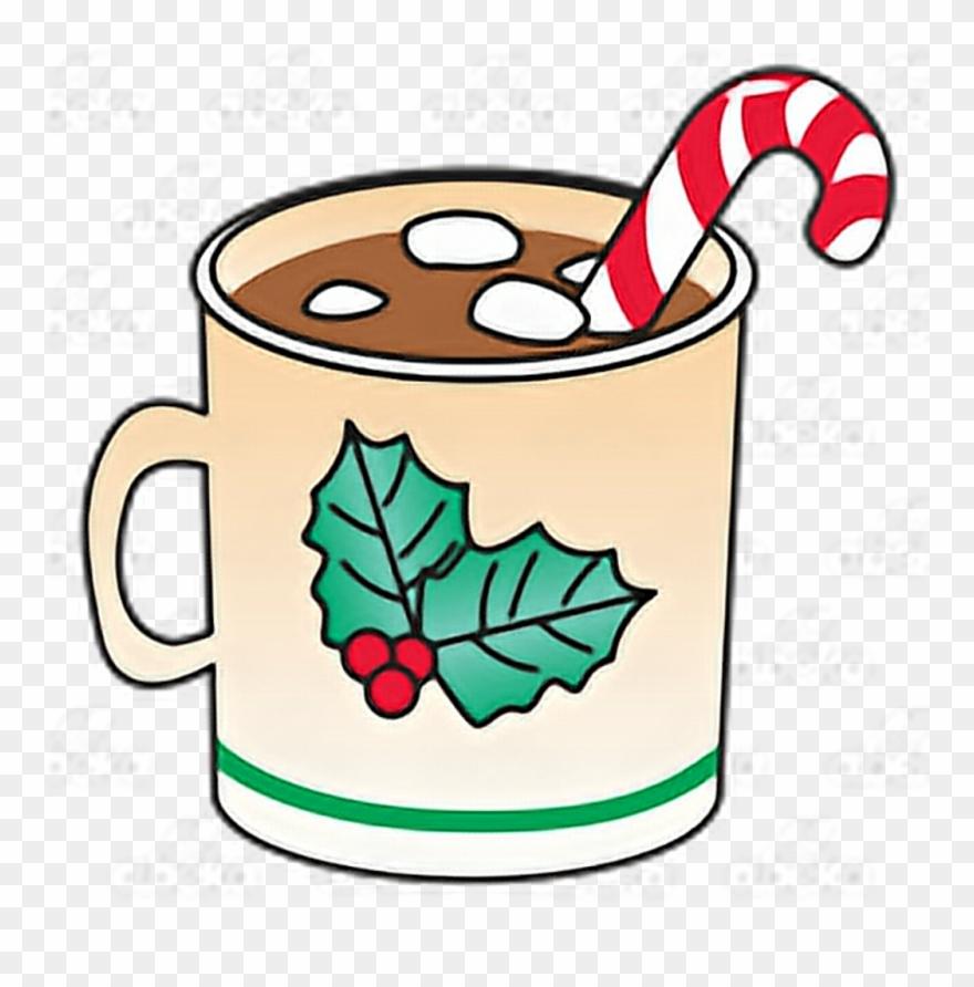 Xmas Christmas Navidad Chocolate Marshmallow Hotchocola.