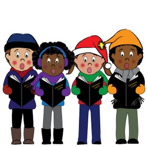 Virtual Choir Clipart Christmas.