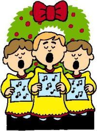 Clipart christmas choir.