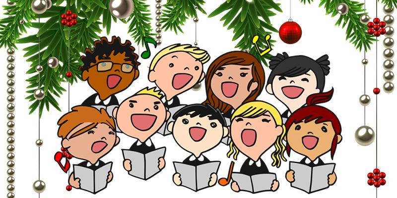 Caroling clipart choir, Caroling choir Transparent FREE for.