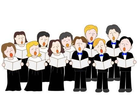 Christmas choir clipart 4 » Clipart Station.