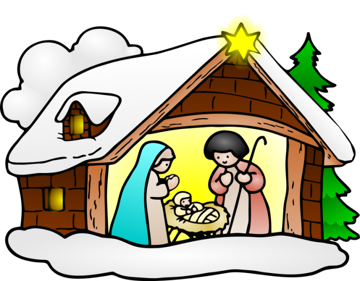 Christmas Clipart Religious Images.