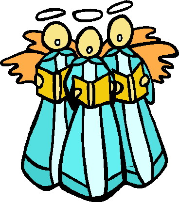 Image of Church Choir Clipart #6564, Christmas Carol Clip Art Im.