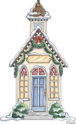 CHRISTMAS CHURCH CLIP ART.