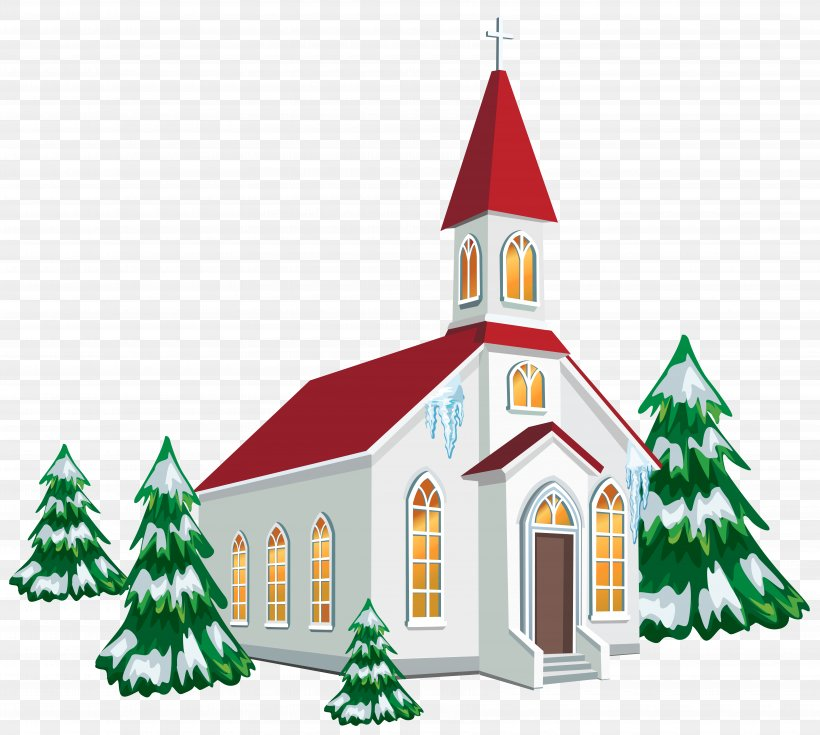 Christmas Church Service Clip Art, PNG, 7025x6302px, Church.