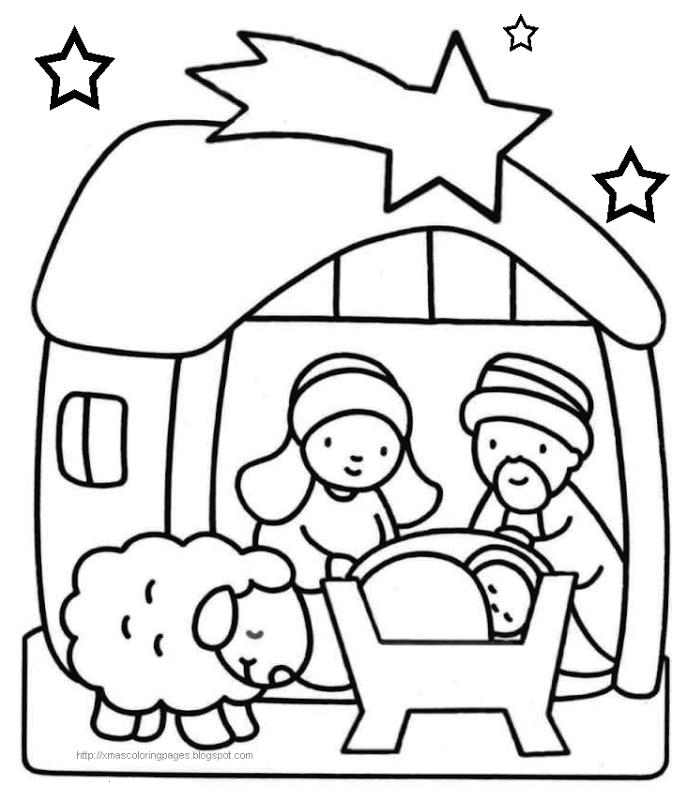 Free Religious Coloring Pages.