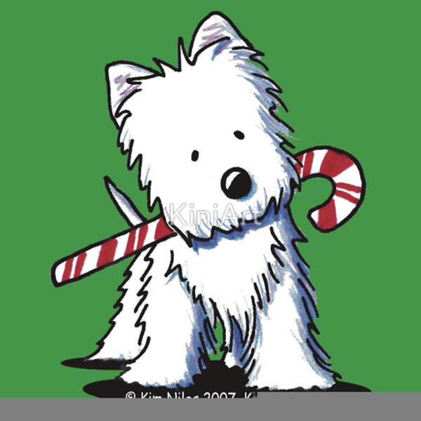 Free Dog Christmas Clipart.