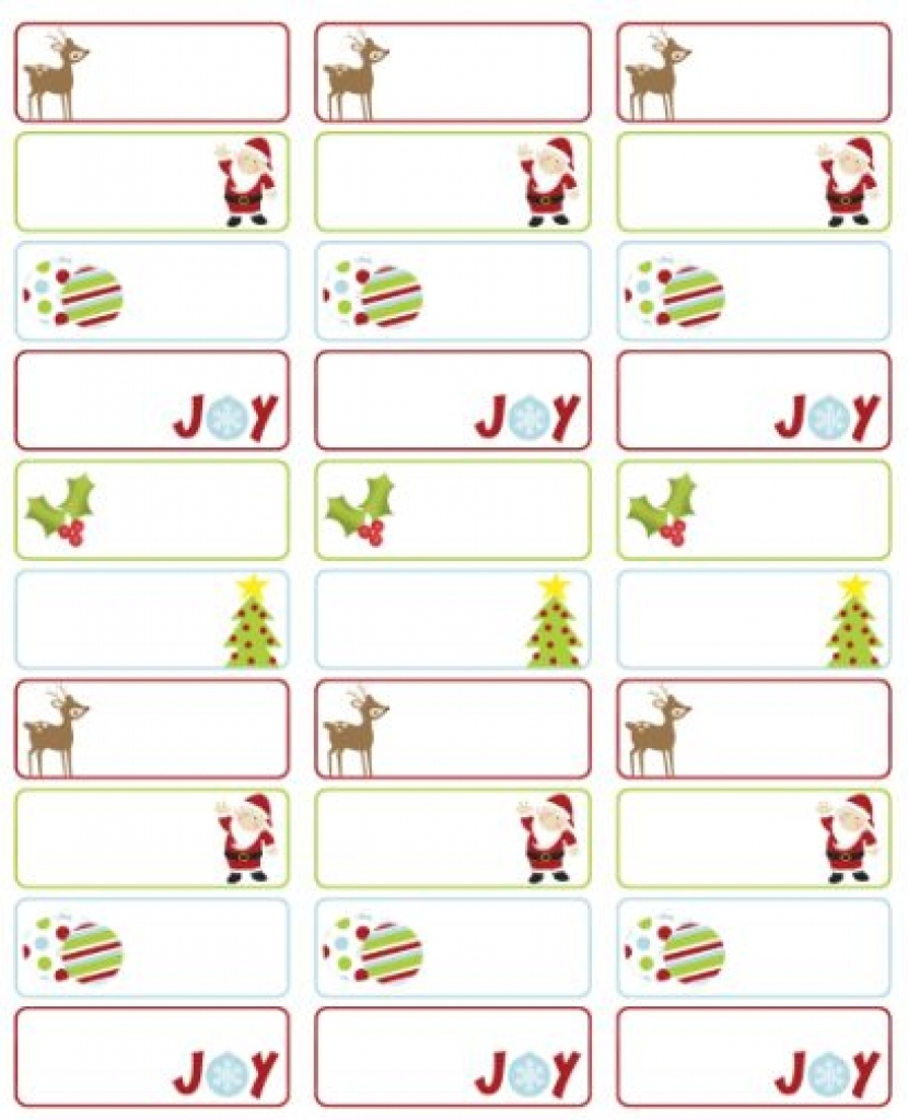 christmas clip art for labels free downloads.