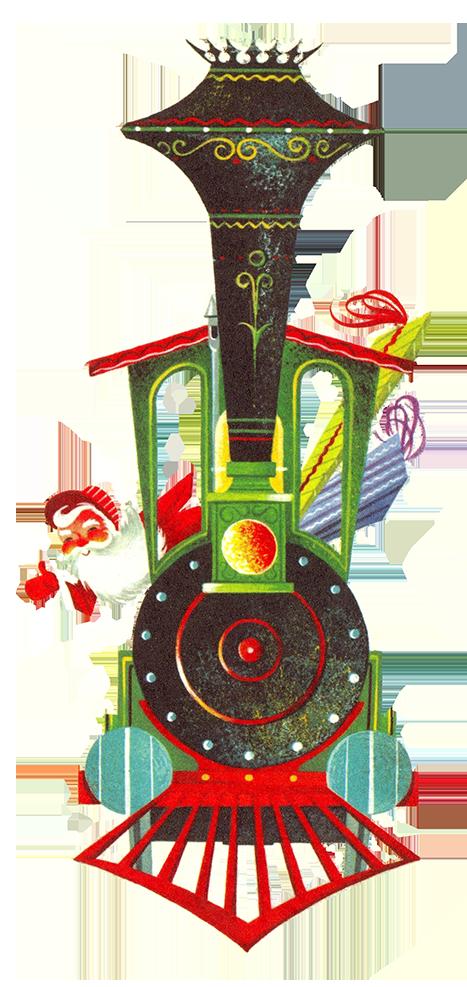 Charming Vintage Christmas Clip Art.