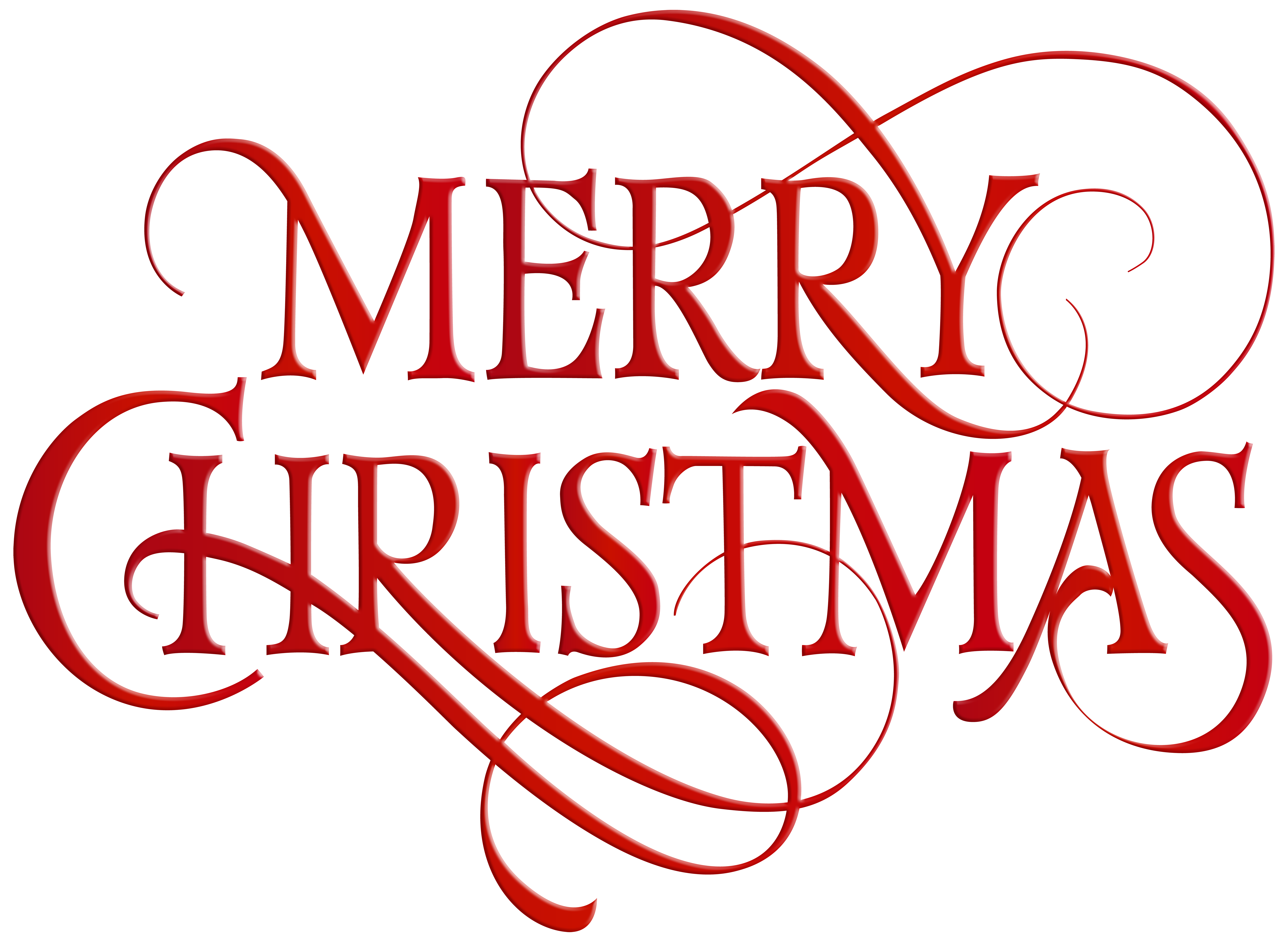 Merry Christmas Clipart.