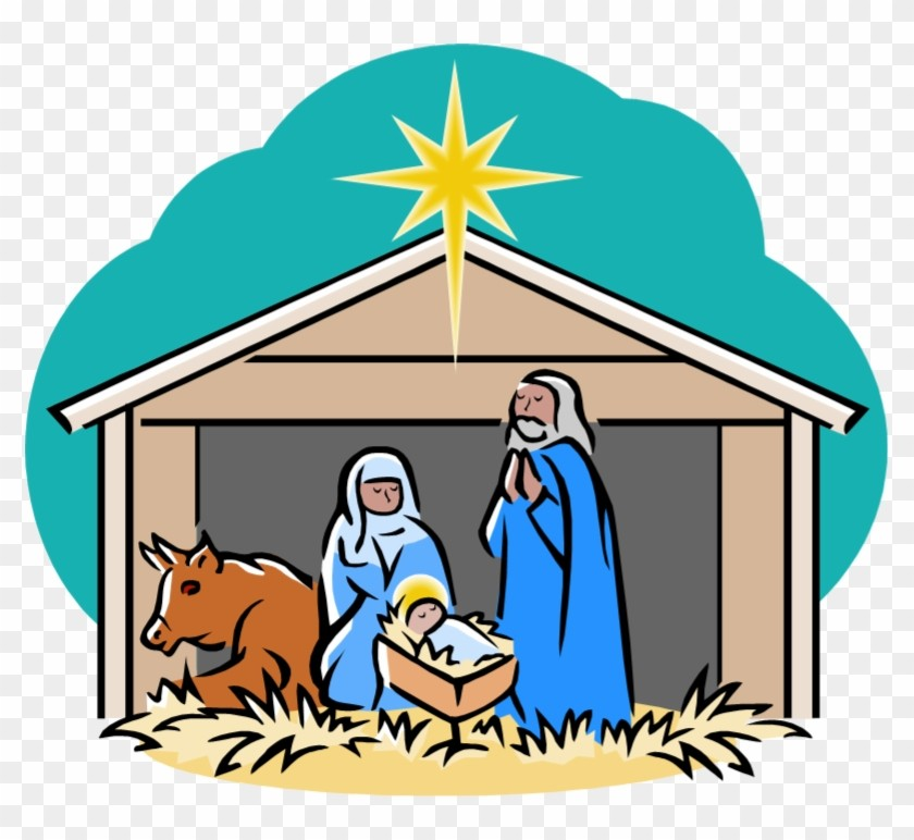 Jesus Birth Clipart.