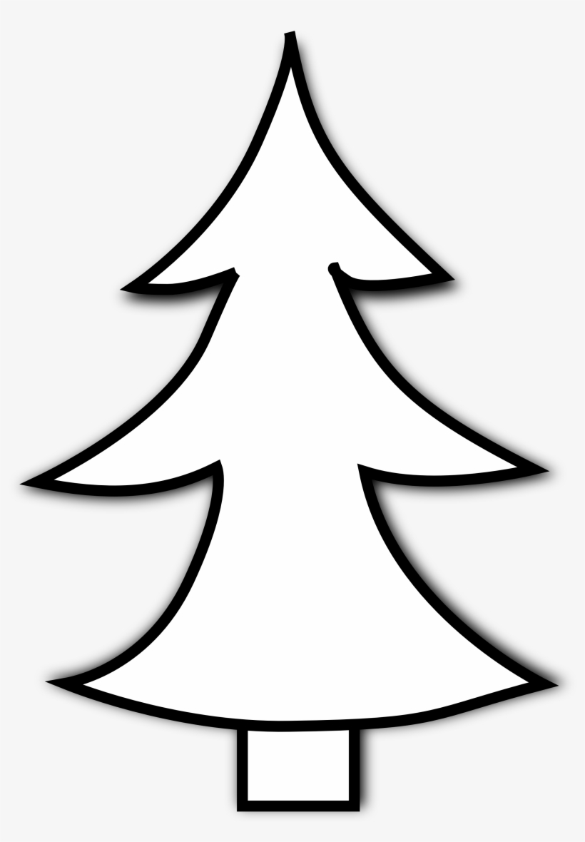 Clip Art Pine Trees Black And White Free Clipart.